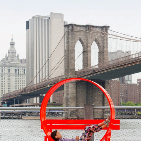 JEPPE HEIN - Modified Social Bench NY #05 2015 | JAMES EWING / PUBLIC ART FUND NY