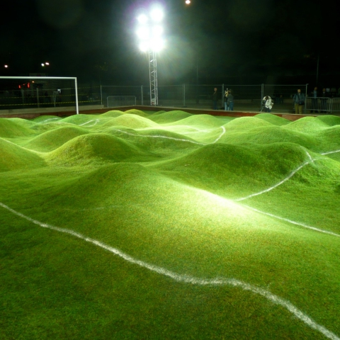 PRISCILLA MONGE - Untitled (Soccer Pitch) 2006 | DR